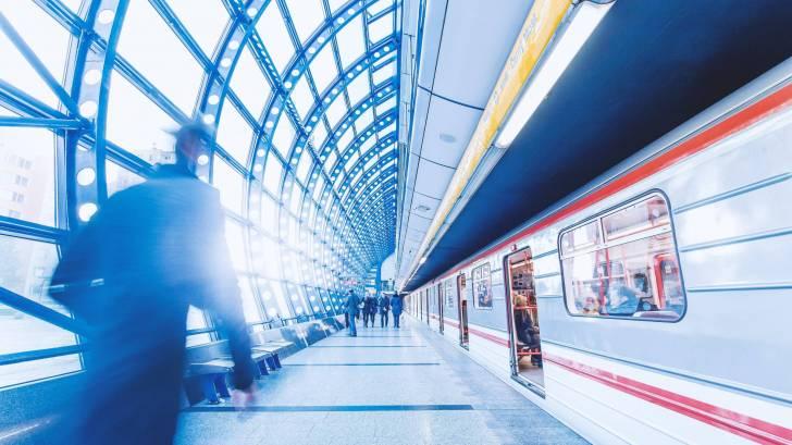 underground train system