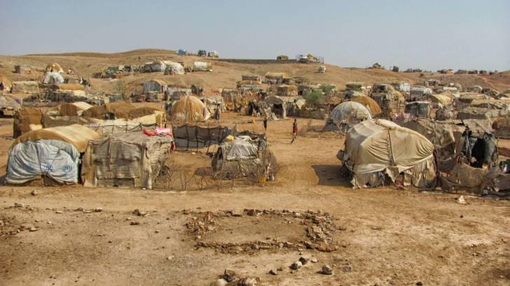 refugee camp in africa