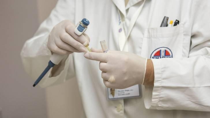 medic testing in the field