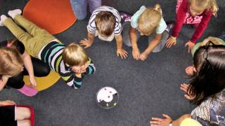 kindergarten school class