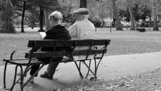 older folks sitting on a bench