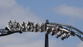 roller coaster upside down