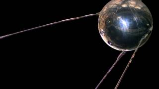 sputnik space craft from russia