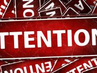 attention banner