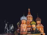 russian colorful buildings
