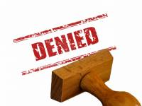 stamp that says denied